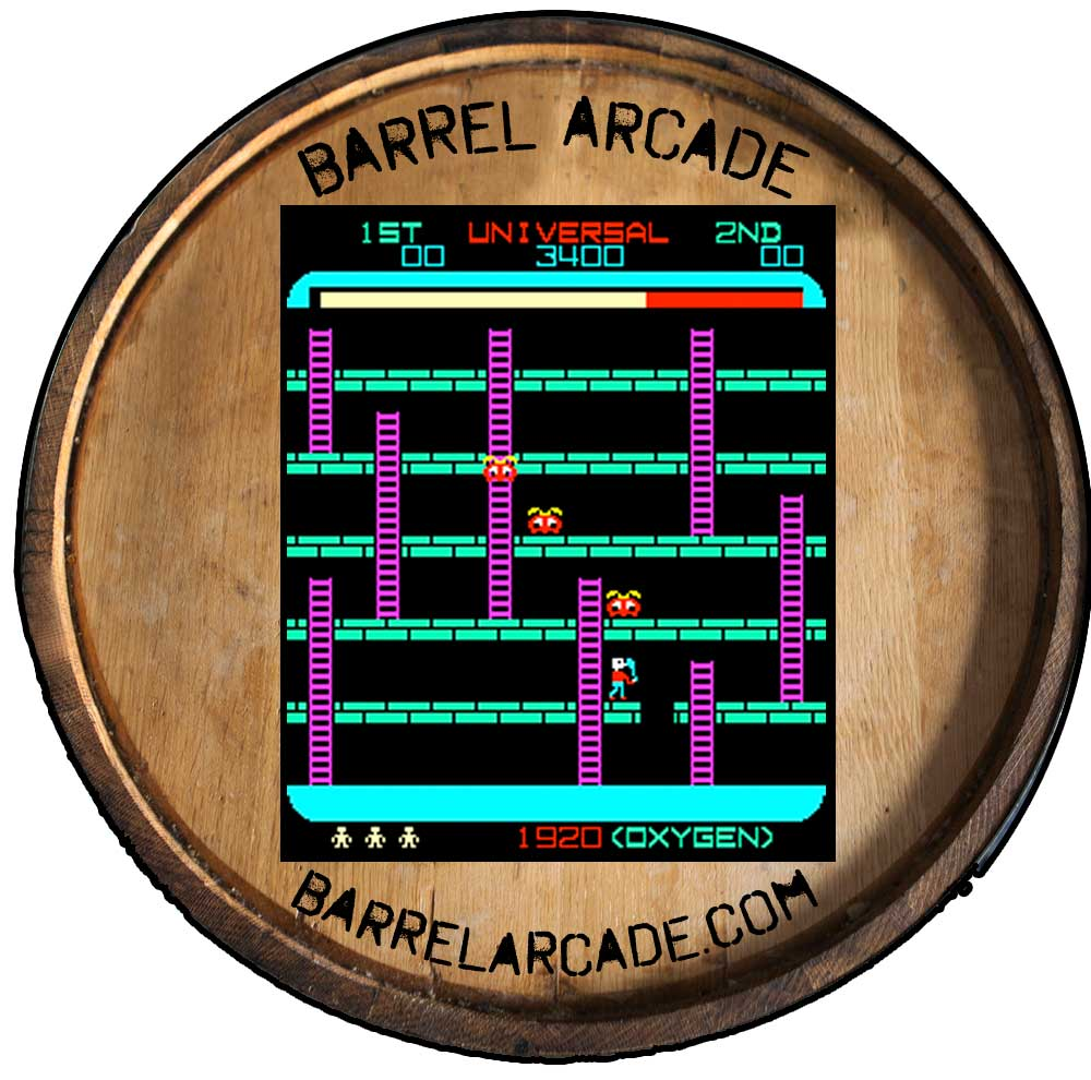 whiskey barrel arcade game 60 classic games in 1 unit